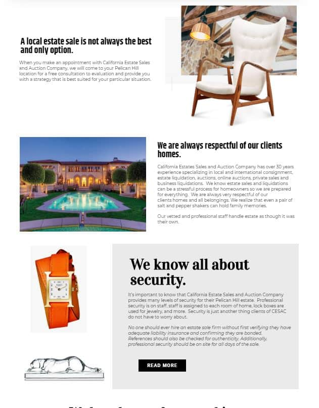 orange county website design